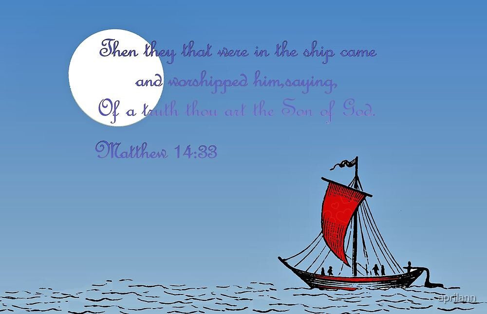 Of a Truth Thou Art the Son of God by aprilann