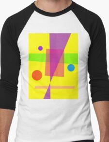Existence Yellow Men's Baseball ¾ T-Shirt