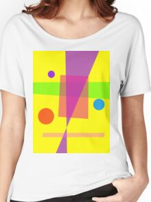Existence Yellow Women's Relaxed Fit T-Shirt