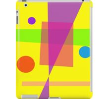Existence Yellow iPad Case/Skin