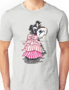 Girly Schnauzer Unisex T-Shirt