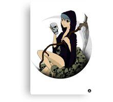 Grim Reaper v2 Canvas Print
