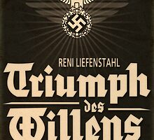 Triumph - German WW2 Film Poster by Chris L Smith