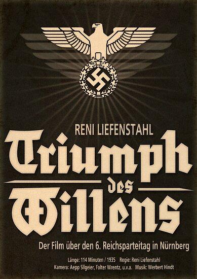 Triumph - German WW2 Film Poster by Chris L Smith