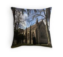 Dunkeld Cathedral, Perthshire, Scotland. Throw Pillow
