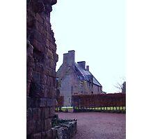 Rosslyn Castle, Midlothian, Scotland.  Photographic Print