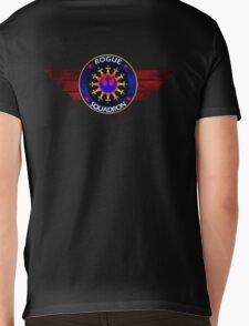 Rebel Alliance Rogue Squadron Logo Mens V-Neck T-Shirt