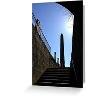 The Martyr's Monument in Old Calton Burial Ground.  Edinburgh Greeting Card