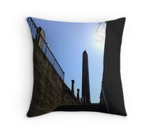 The Martyr's Monument in Old Calton Burial Ground.  Edinburgh Throw Pillow