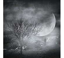 Dark night sky paradox Photographic Print