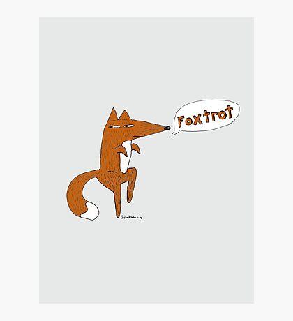 foxtrot Photographic Print