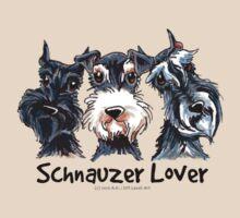 Schnauzer Lover by offleashart