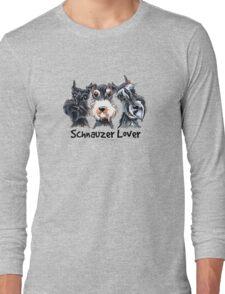 Schnauzer Lover Long Sleeve T-Shirt