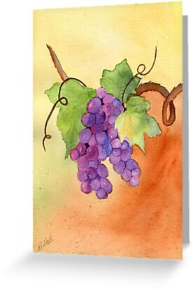 Grapes by Diane Hall