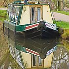 Canal boat by Andrew Jeffries
