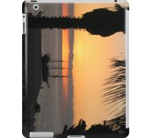 Sunsetting on the Tall Ship iPad Case/Skin