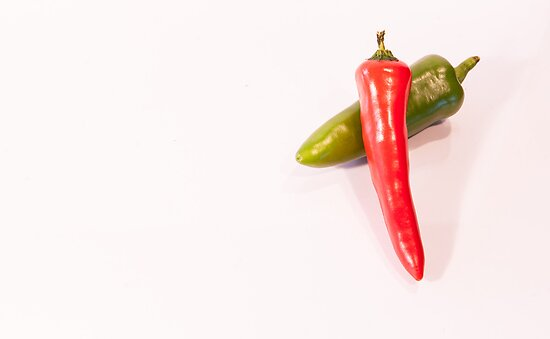Hot Chillies by Michael Hollinshead