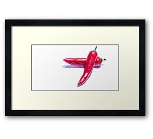 Red Hot Chillies Framed Print