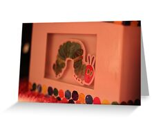 THE VERY HUNGRY CATERPILLAR Greeting Card