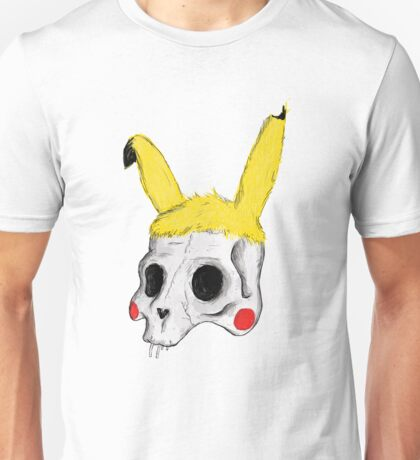 The Skull of Pikachu Unisex T-Shirt