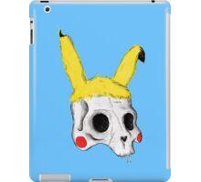 The Skull of Pikachu iPad Case/Skin