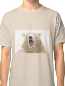 ....the run away sign for the Polar bear..... Classic T-Shirt