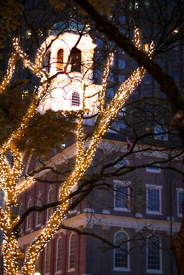 Faneuil Hall, Boston, Massachusetts by Elizabeth Thomas