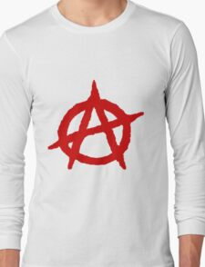 Anarchy Shirt Long Sleeve T-Shirt