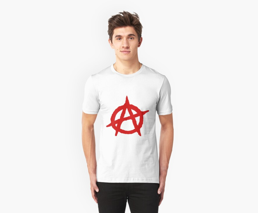 Anarchy Shirt by Cosmo Harbison