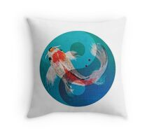 Breathe & be free Throw Pillow