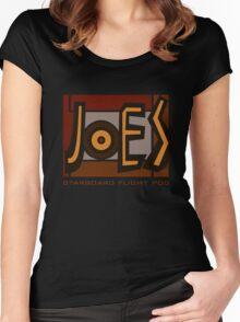 JOE'S BAR / COLOUR SIGN Women's Fitted Scoop T-Shirt