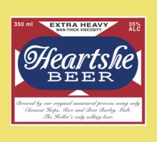 Heartshe Beer One Piece - Short Sleeve