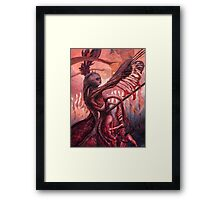The Ropes and Rabbles of the Depths Framed Print