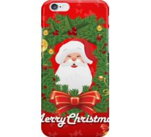 Merry Chrismas Santa Claus iPhone Case ,Casing 4 4s 5 5s 5c 6 6plus Case - Merry Chrismas Santa Claus Samsung case s3 s4 s5 iPhone Case/Skin