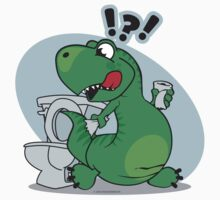 T-rex and the Potty by AngelGirl21030