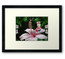 ☀ ツ MY LITTLE FLOWER GIRL ☀ ツ Framed Print