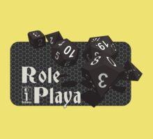Role Playa - Black Baby Tee