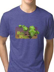 Role Playa - Green Tri-blend T-Shirt