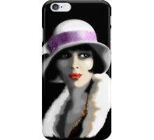 Girl's Twenties Vintage Glamour Portrait iPhone Case/Skin