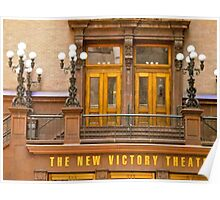 The New VIctory Theatre, New York City Poster
