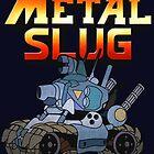 Metal Slug Tank by Steampunkd