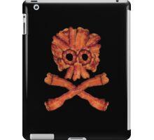 Bacon Skull and Crossbones iPad Case/Skin
