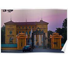 Vietnam. Hanoi. Presidential Palace at sunset. Poster