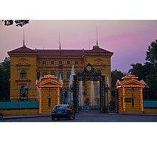 Vietnam. Hanoi. Presidential Palace at sunset. Photographic Print