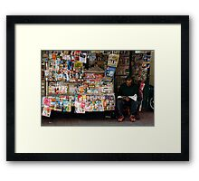 People 4529  Buenos Aires, Argentina Framed Print