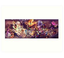 DOEK Battle Royale Art Print