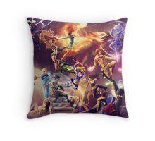 DOEK Battle Royale Throw Pillow
