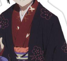 Hyouka: Eru Chitanda Kimono Outfit Pose Sticker