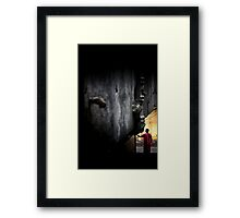 """""""My room in Bangalore has a point of view."""" Framed Print"""