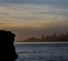Fishing San Francisco... by Richard Thelen